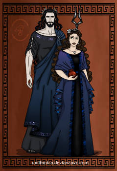 GodsOfAncientGreeceCouples: Hades and Persephone