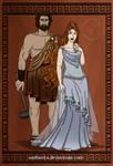 GodsOfAncientGreeceCouples: Hephaestus + Aphrodite