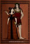 GodsOfAncientGreeceCouples: Dionysos and Ariadne