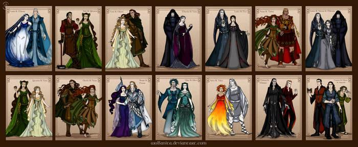Silmarillion Valar Maiar Couples