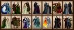 Silmarillion Valar Maiar Couples by wolfanita
