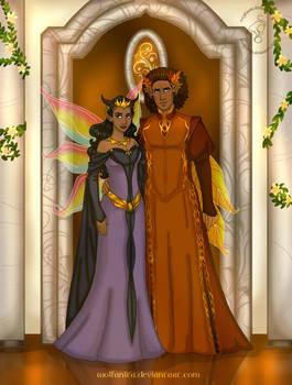 Commission: Royal Fairy Couple