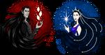 Silmarillion: Valar Shirt Designs Melkor and Varda