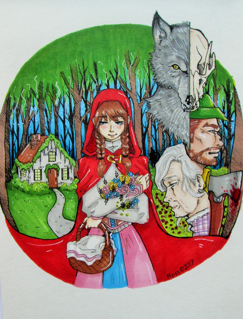 Little red riding hood by Tan97