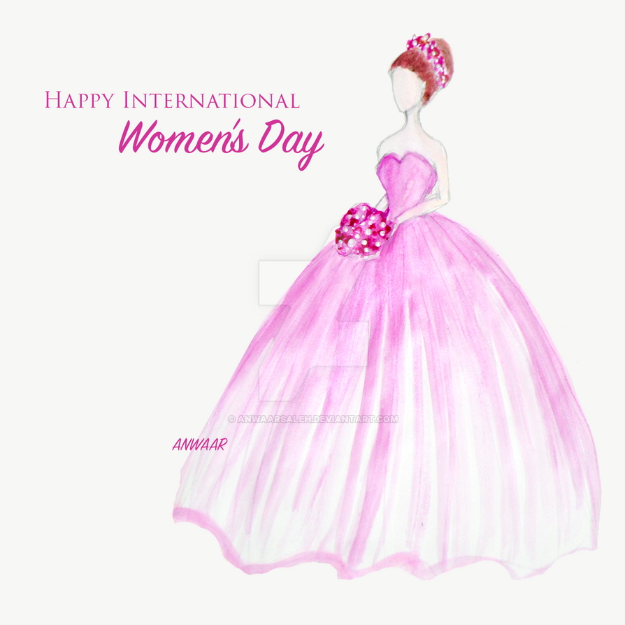 Women Day Fashion Illustration by anwaarsaleh