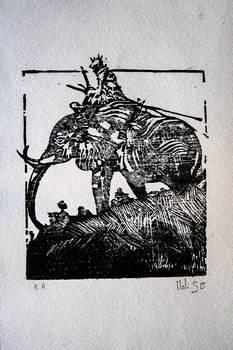 Elephant - the print