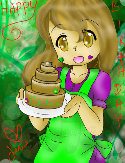 Happy Birthday Chloe by Sunnibutt