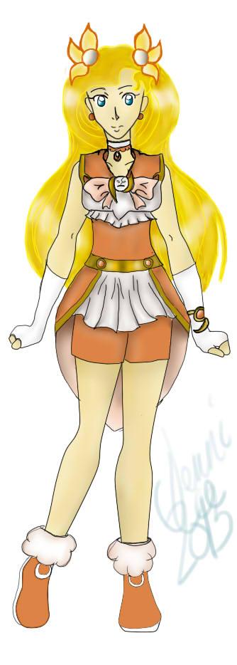 Muse Senshi .: Melpomene:. by Sunnibutt