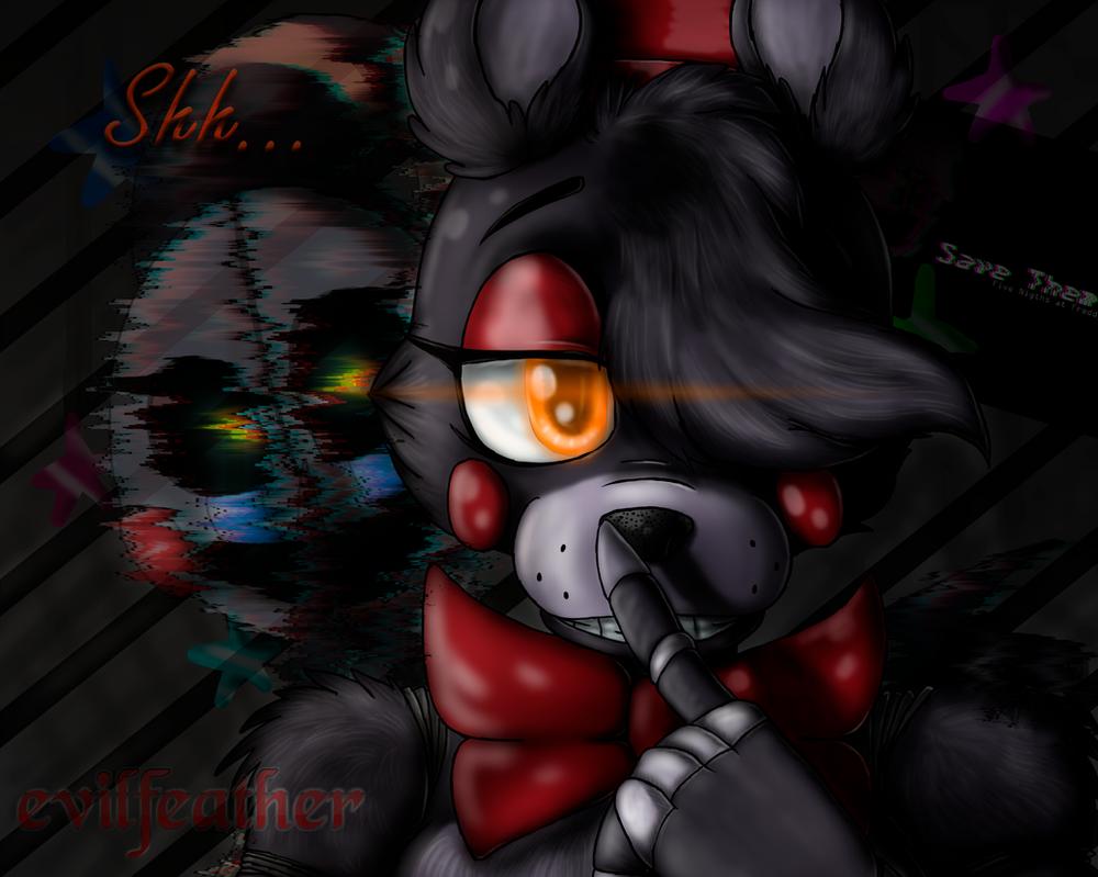 [FNAF6|FAN-ART] Shh... by evilfeather