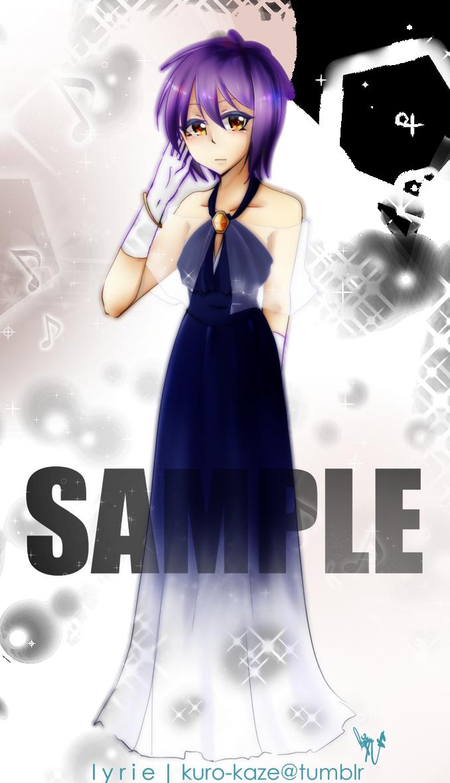 .: commission : prom : nagato yuki :. by L-Y-R-I-E