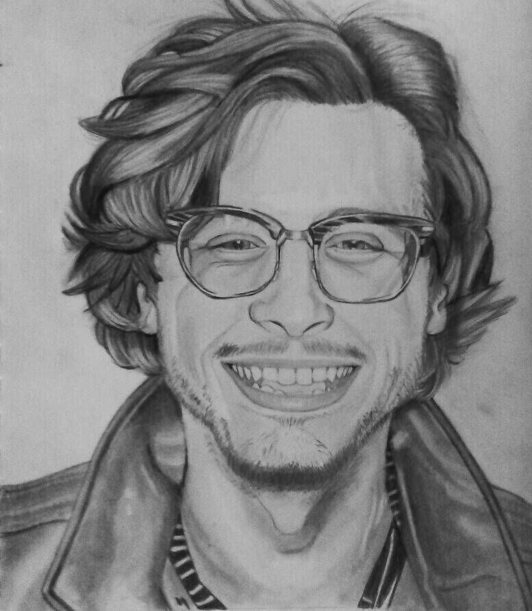 Matthew Gray Gubler Black And White