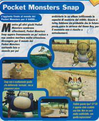 Pokemon Snap prototype- Magazine scan translated by FrenchOrange