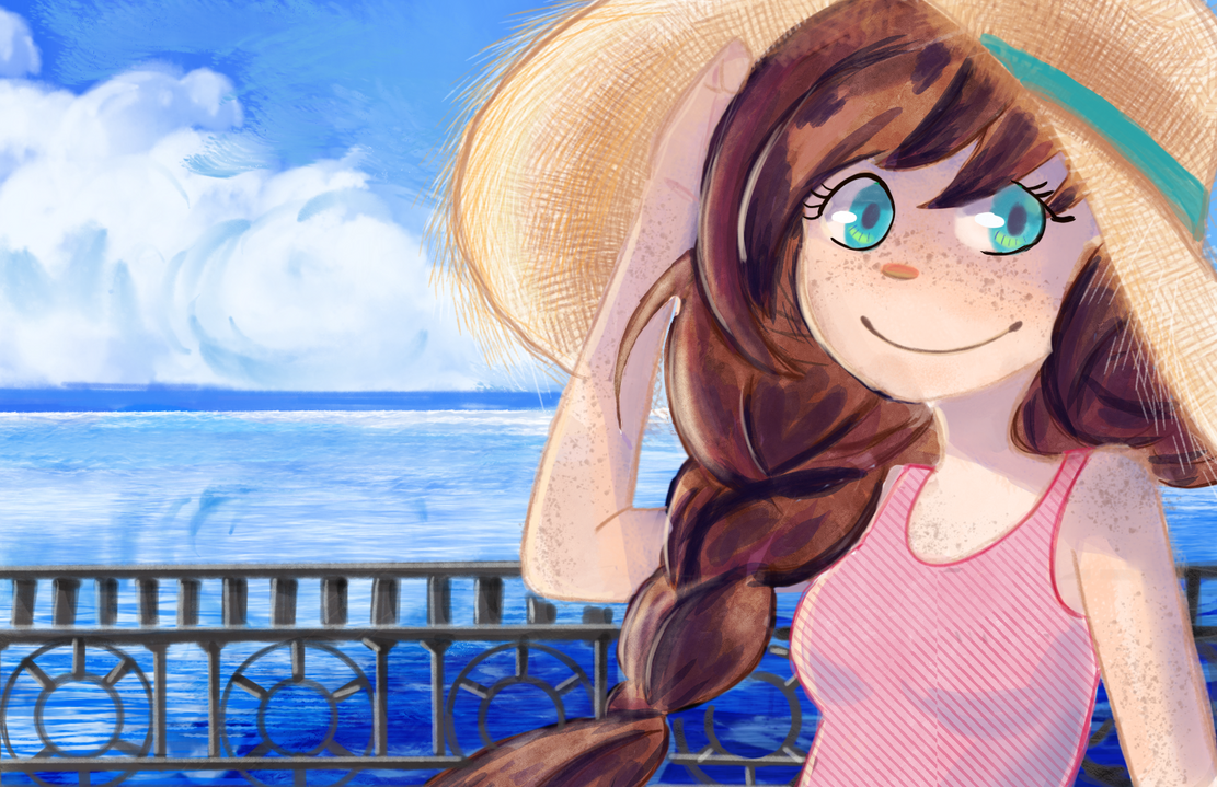 Summer day by OoFluffoO