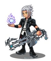 Young Xehanort FF Opera Omnia Style by VampireMell