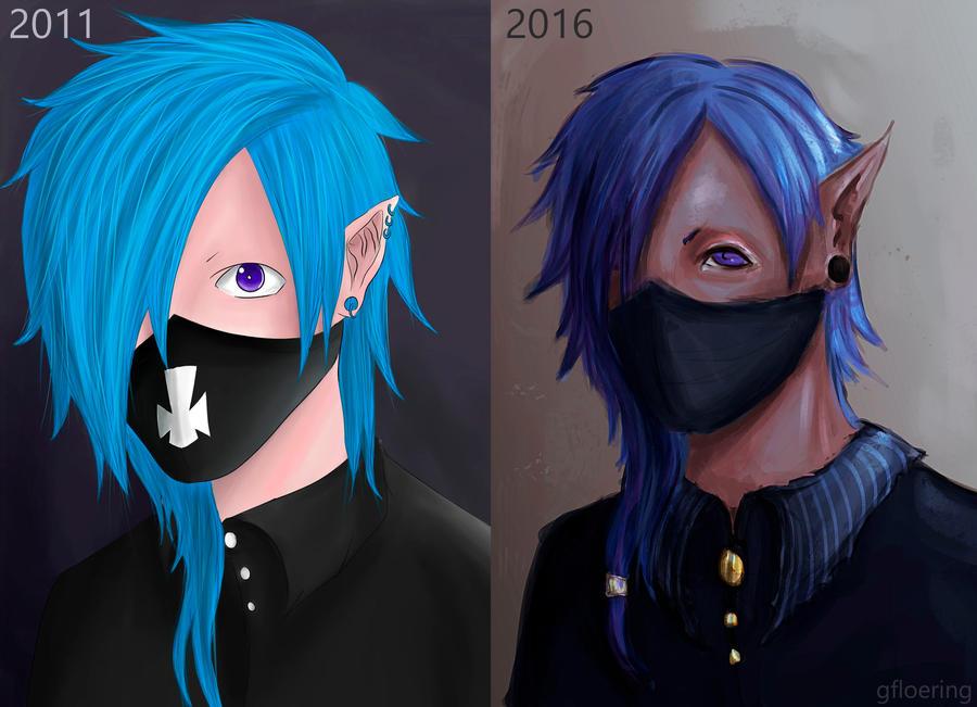 draw_this_again_meme___blue_hair_elf_by_gfloering dart9w5 draw this again meme blue hair elf by gfloering on deviantart