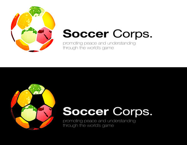 Soccer Corps alternative logo by slcrawford