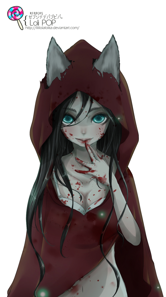 ~Encore des renders~ Red_riding_hood_render__2__by_lililolalolita-d93acv2