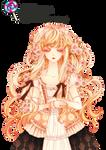 Anime girl render -5-