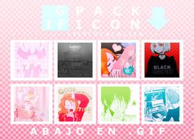 Pack icon formato GIF by LiliLolaLolita