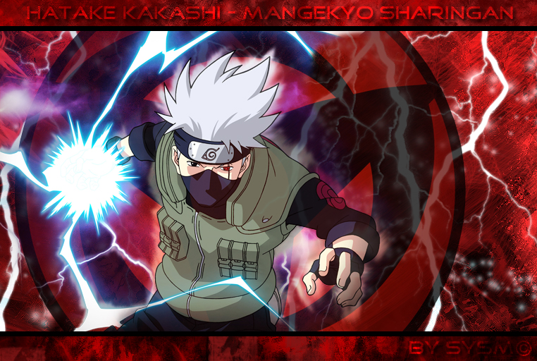 Kakashi mangekyou sharingan wallpaper