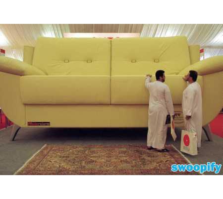 Huge Sofa VS Tiny Men By Swoopify On DeviantArt