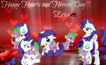 {Wallpaper} ~ Happy Hearts and Hooves Day...