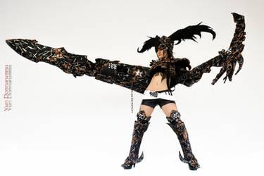 Black Rock Shooter Insane by Elektra86