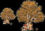 Pixel Tree and Aki Sisters