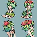 Moemon - Ivysaur and Venusaur by CMagister