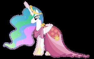 Pr. Celestia( Gala dress) by Roze23