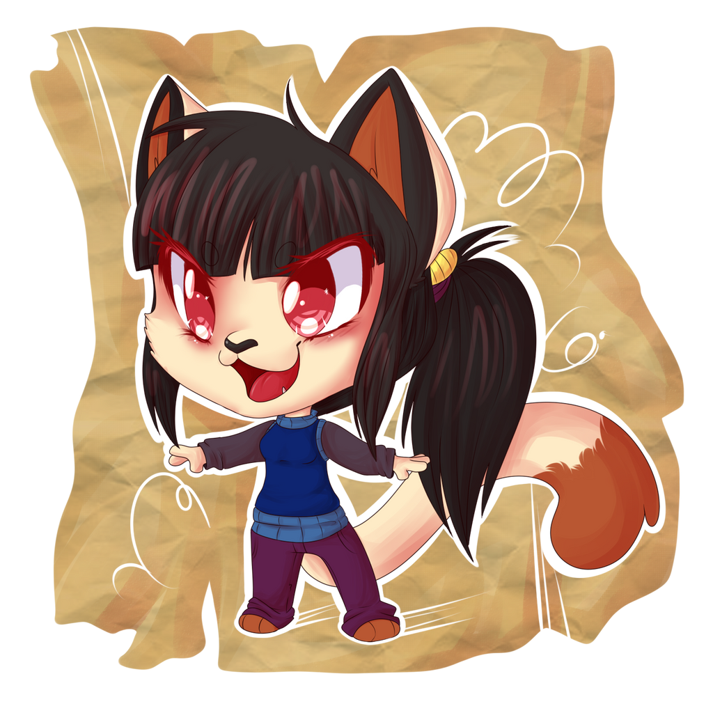 PKMNA - Chibi Cloe by KeIdeo