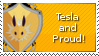Tesla Stamp by Buntato