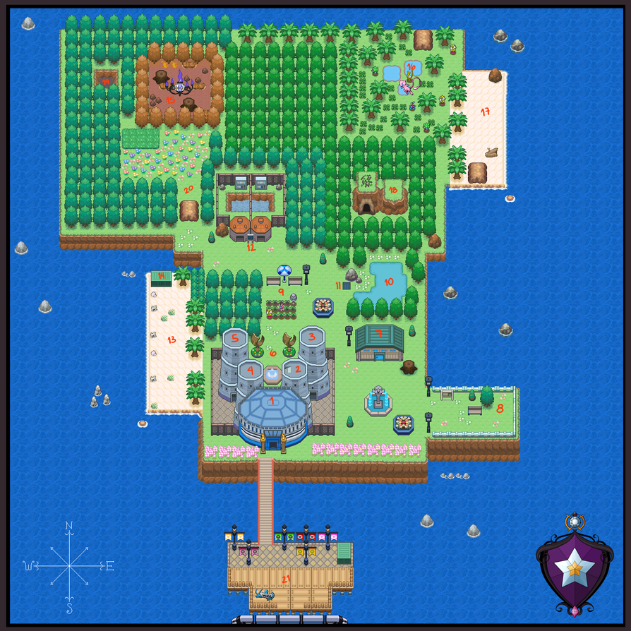 Faraway Island Map by KeIdeo