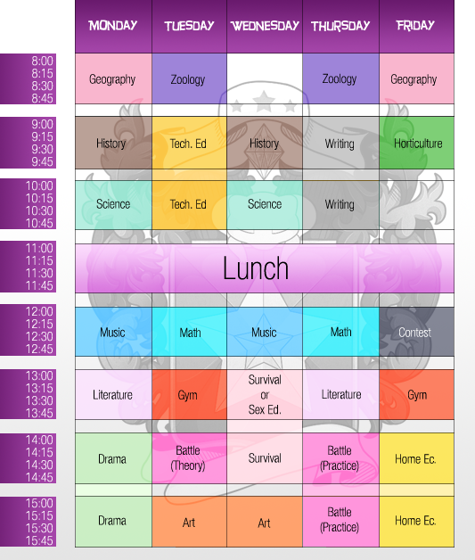 PKMNA :: New Schedule by CherryBuns