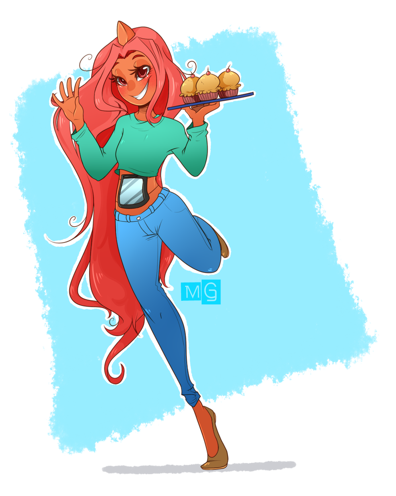 PKMNA :: No really, touch my muffins by CherryBuns
