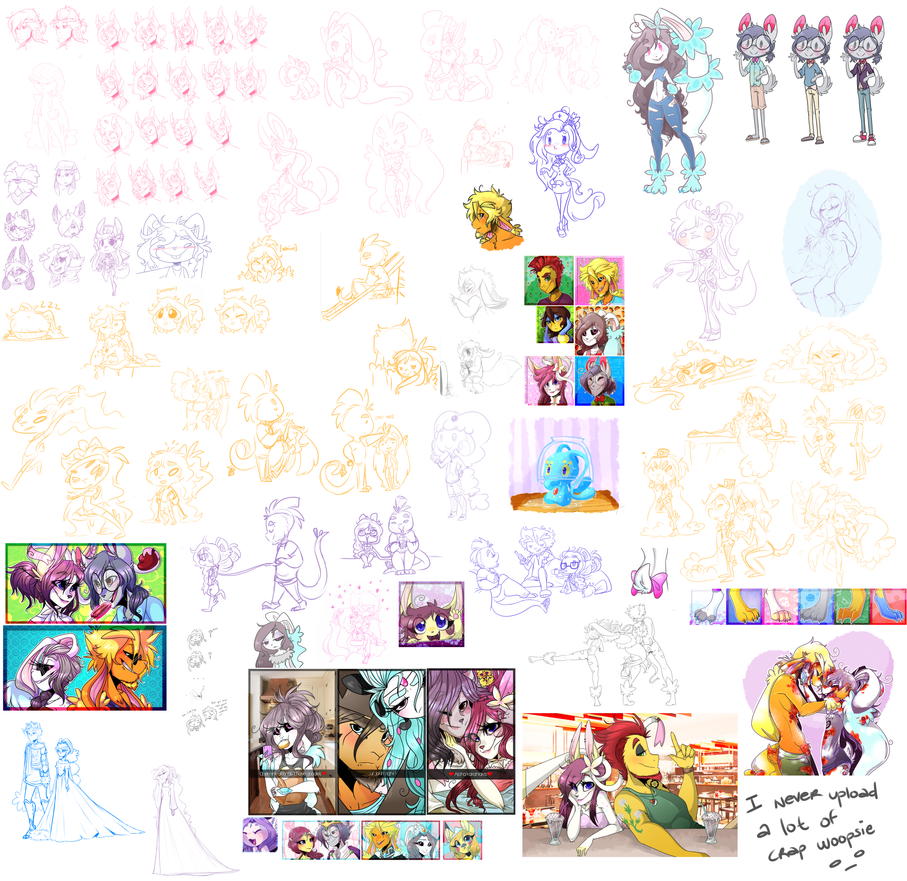PKMNA :: April/May/June dump by CherryBuns