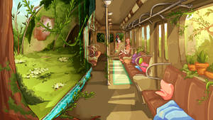 SS :: R-005 Overgrown Station by Buntato