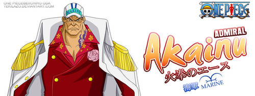 One Piece - Akainu by Tekilazo300