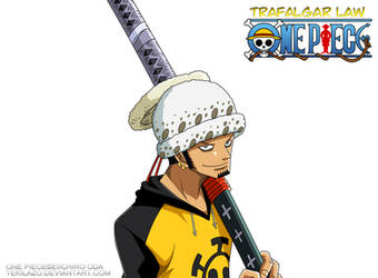 One Piece - Trafalgar Law by Tekilazo300