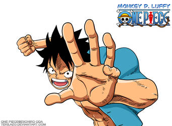 One Piece - Monkey D. Luffy by Tekilazo300