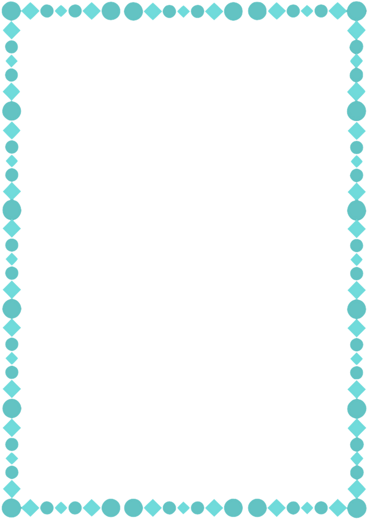 A4 Teal Page Border by whimsinkal on DeviantArt
