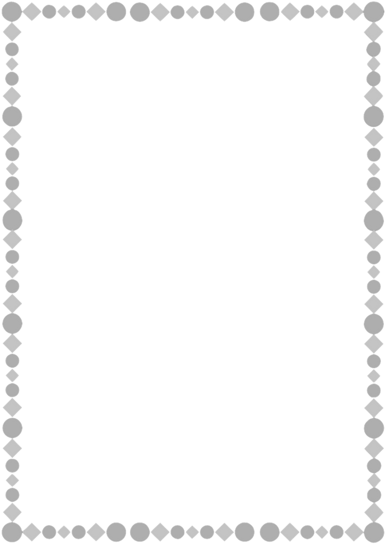 silver a4 page border by whimsinkal on deviantart
