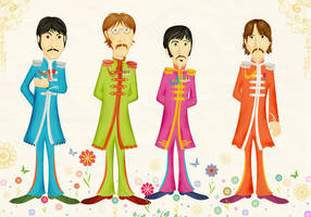 Beatles by robbitdesign