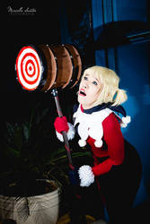 Cosplay: Harley Quinn by ItsReah