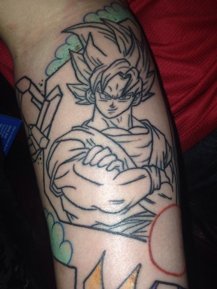 Dragon ball z tattoo sleeve by bridge927 on deviantart for Dragon ball z tattoo ideas