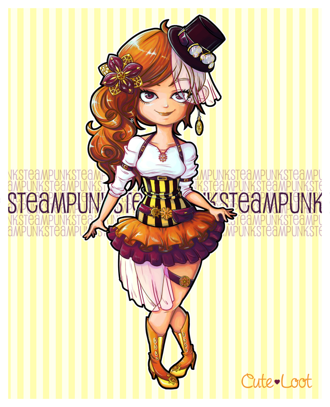 Steampunk by cute-loot