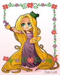Tangled - Rapunzel by cute-loot