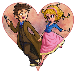 Doctor Who - Happy Valentines by cute-loot