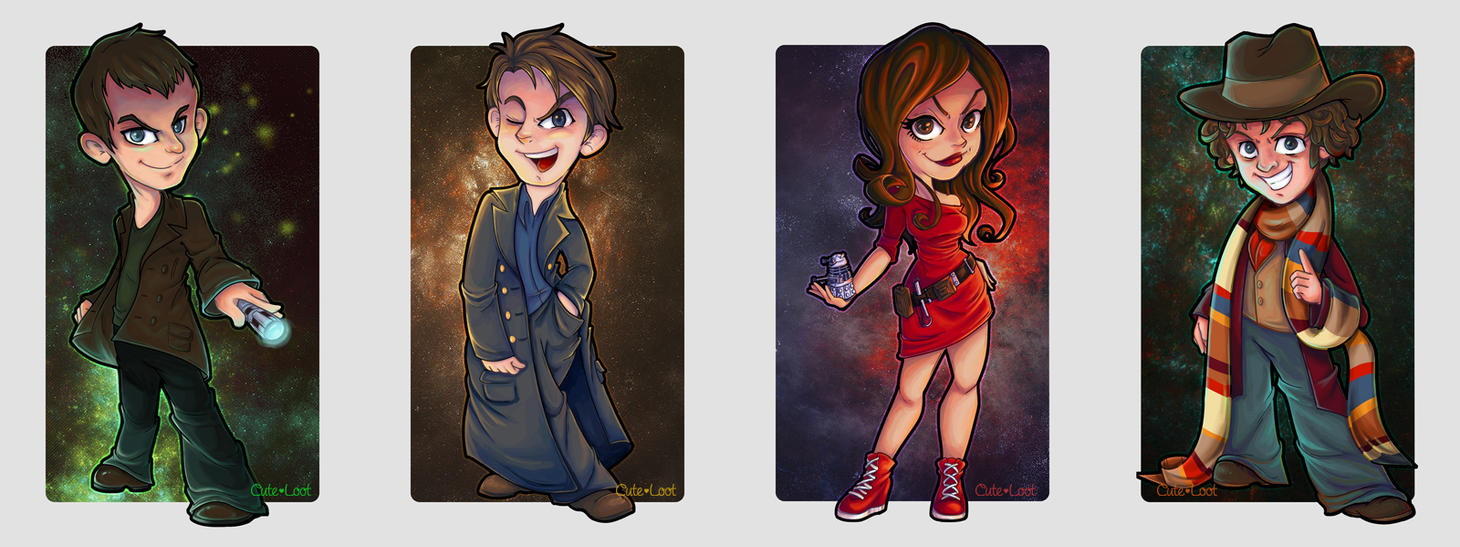Doctor Who - Fantastic! by cute-loot