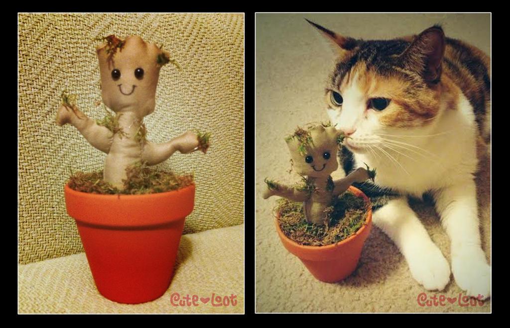 Baby Groot Plush by cute-loot